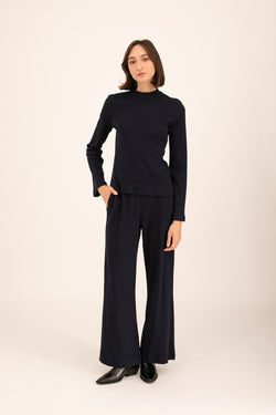 Black Olivia knitted pants