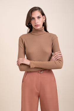 Camel Elliott Turtle Neck