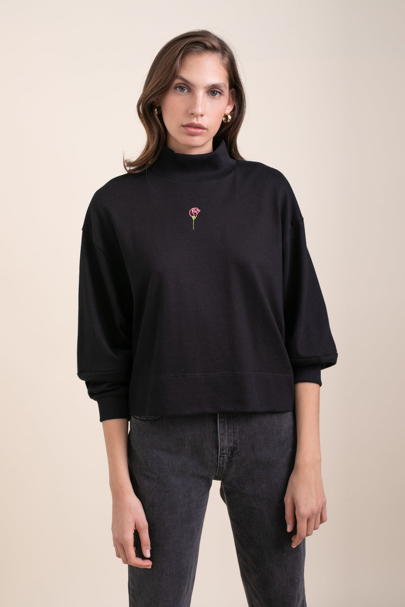 Black Zoe Sweatshirt