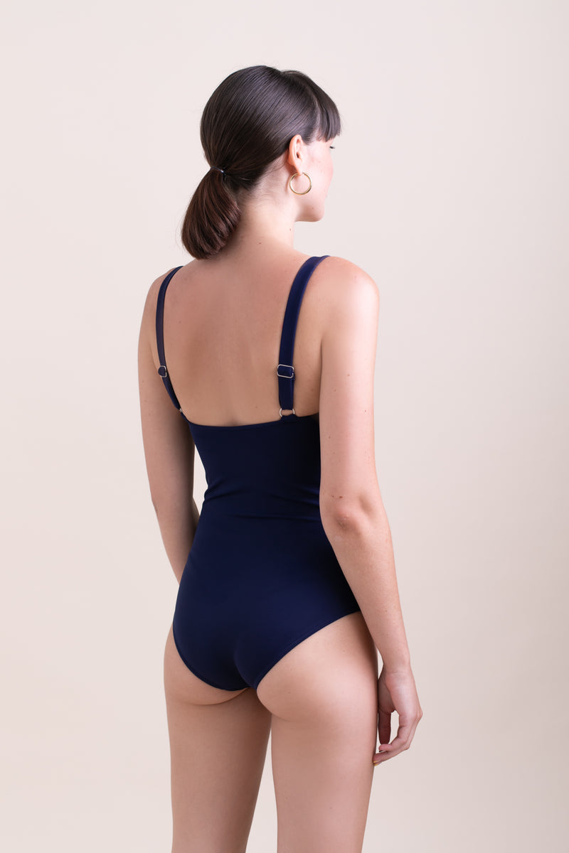 Navy Linda Swimsuit