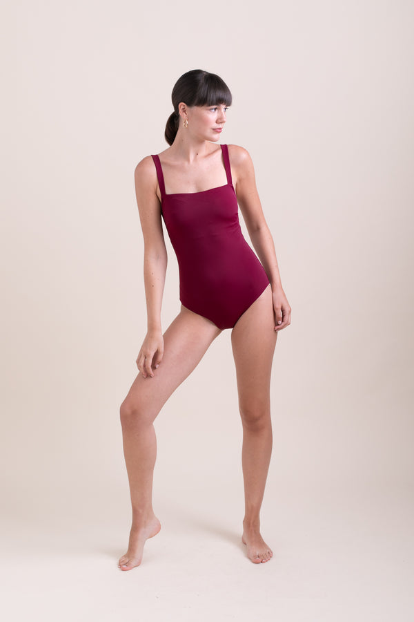 Bordeaux Linda Swimsuit