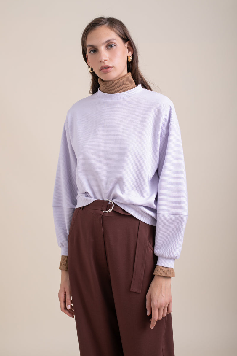 Purple Lucca Sweatshirt