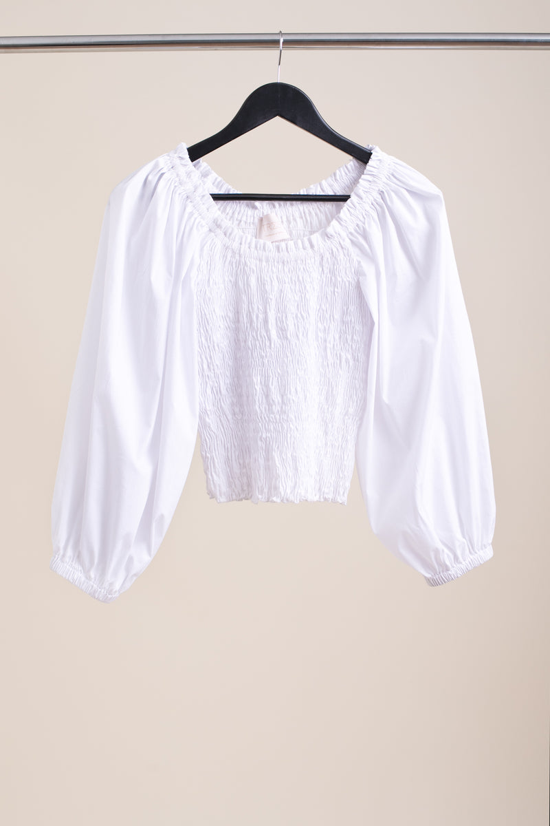 White Chloe Top