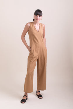 Camel Milly Jumpsuit