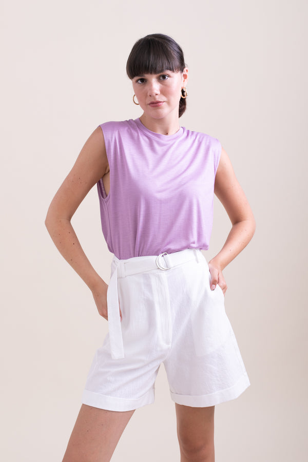 Lilac Sunny Top