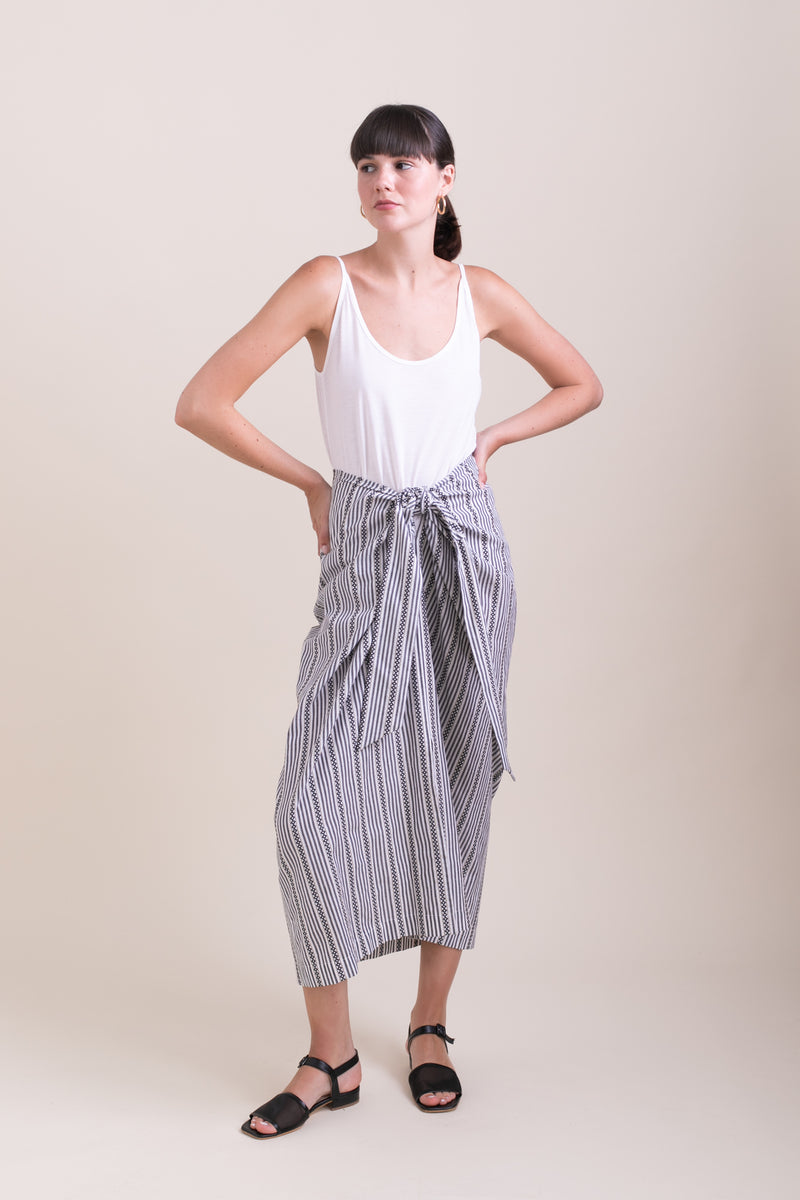Striped Jasmine Skirt