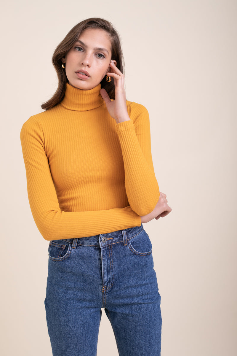 Mustard Elliott Turtle Neck