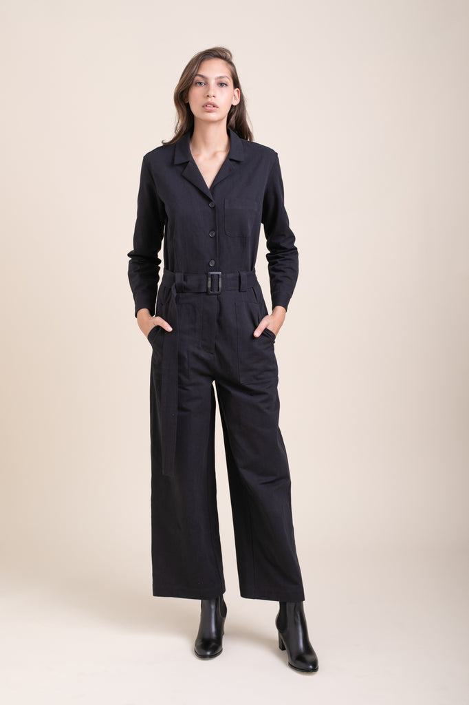 Black Simon Jumpsuit