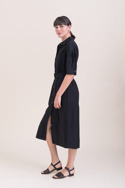 Black Safari Dress