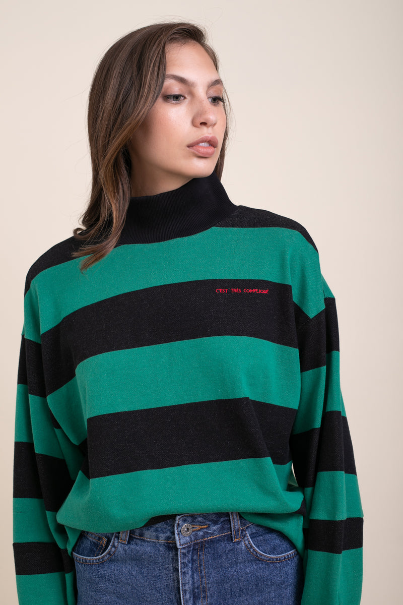 Striped Zoe Sweatshirt