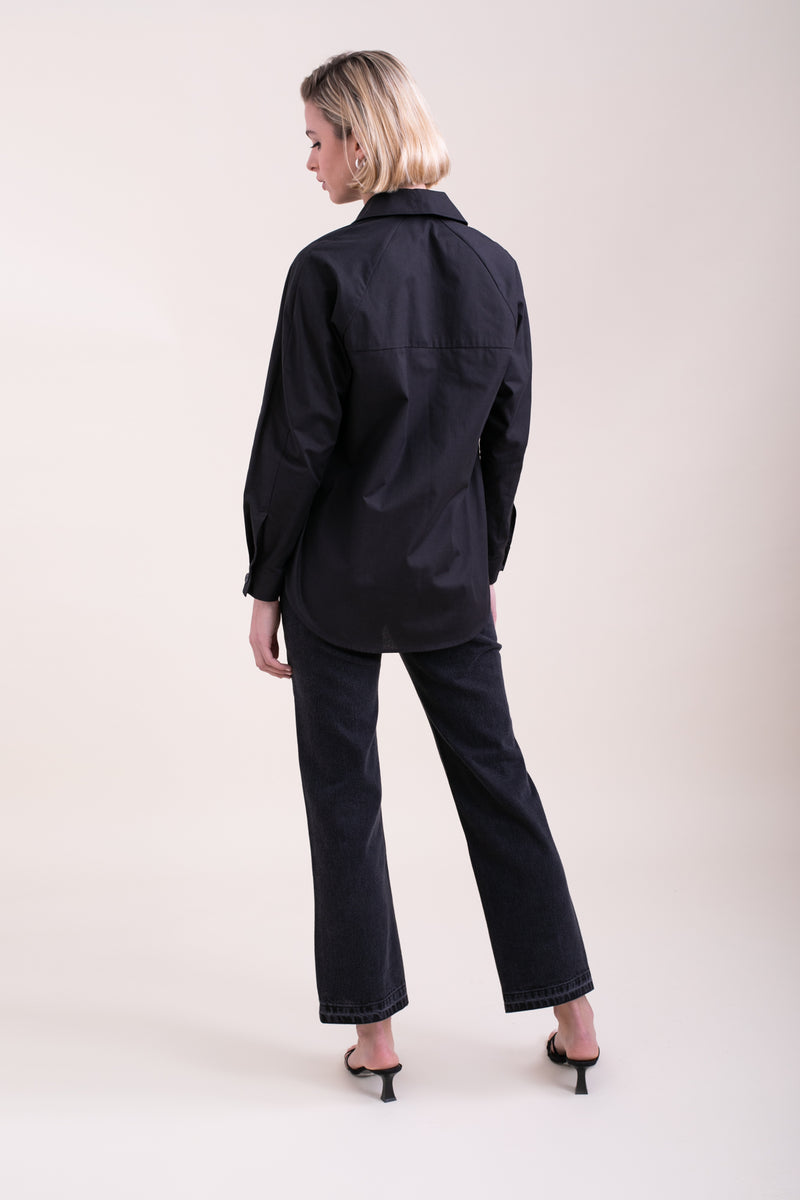 Black Jamie Overshirt