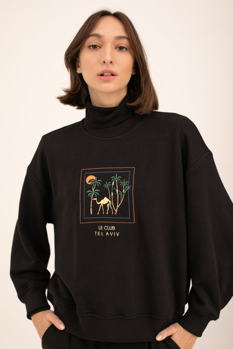 Black Camels Sweatshirt