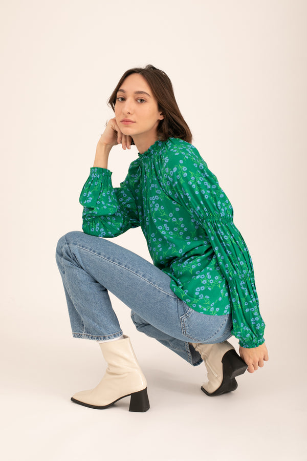 Green Nicki Blouse