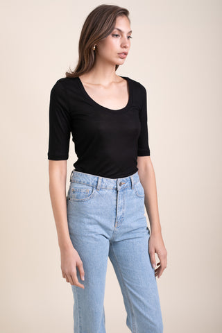 Black Ballerina Top