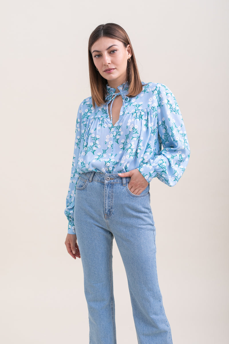 Printed Lauren Top