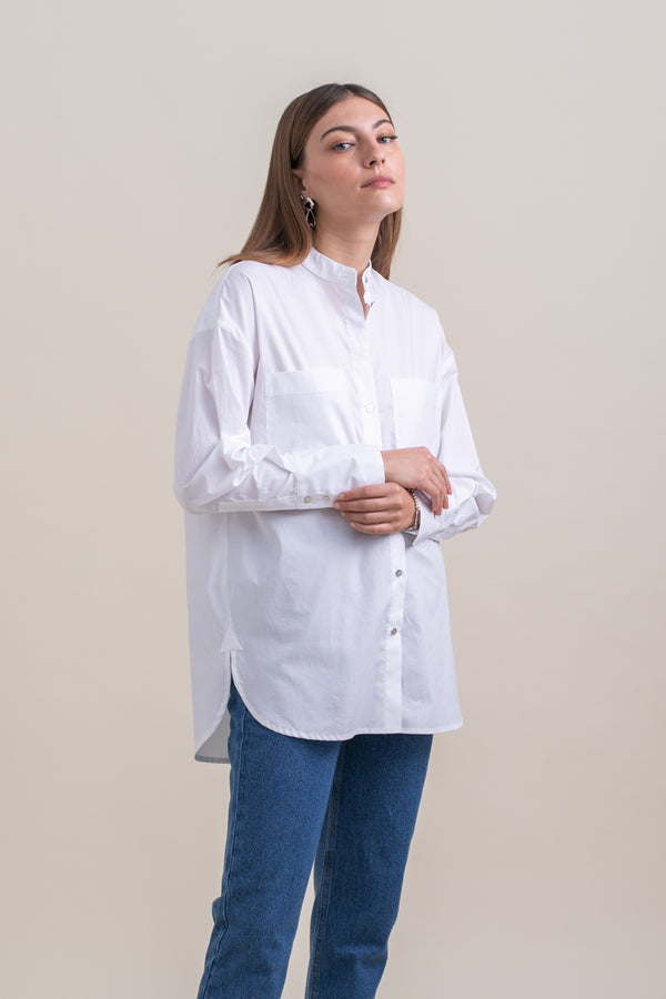 White Dean Blouse