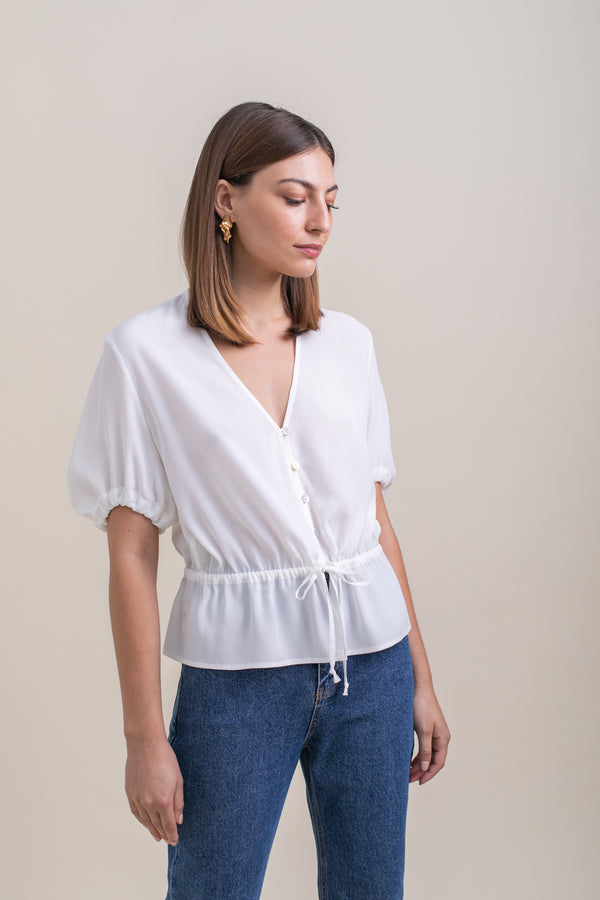 White Alice Top