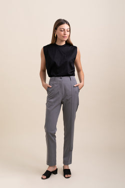 Grey Tommy Pants