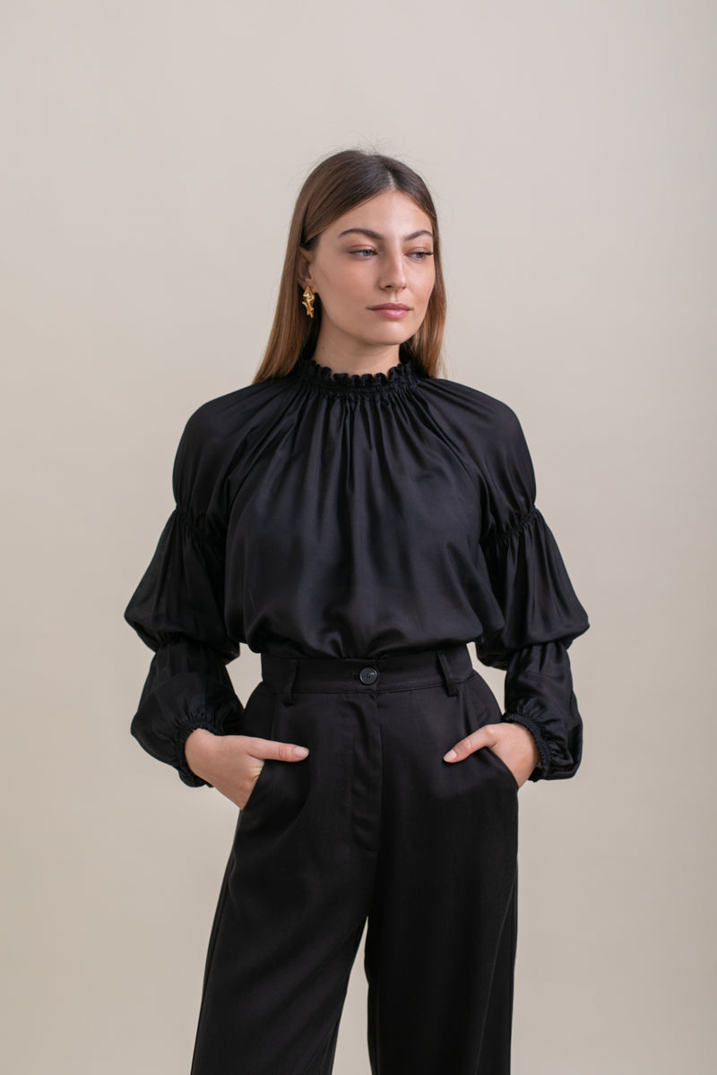 Black Nicki Blouse
