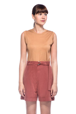 Mocha Lilly Top