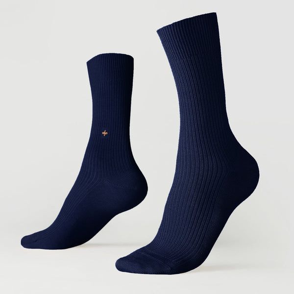 Crew ribbed socks - Nine to five