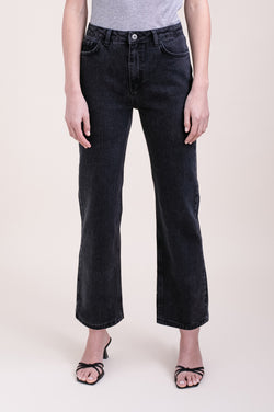 Washed Black TRES Denim