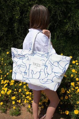 Printed Weekend Bag