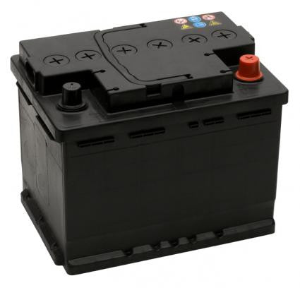 12V 50 Ah DIN Range Car Battery