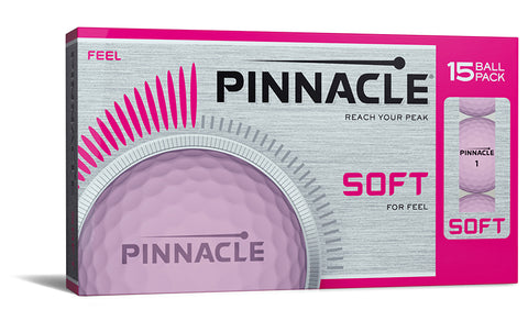 Pinnacle soft lady ballen pink