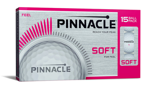 Pinnacle soft lady golfballen