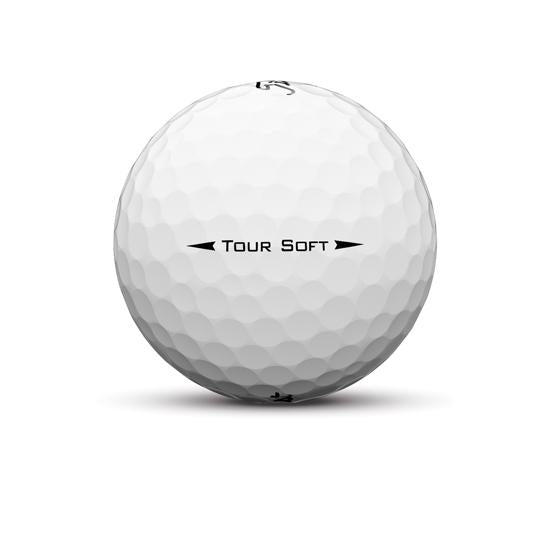Titleist Tour Soft ballen wit