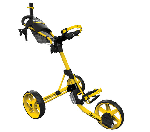 Clicgear Model 4.0 - 3 Wiel Trolley - yellow