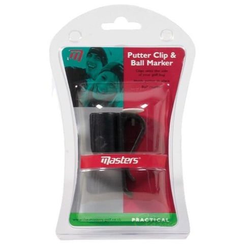 masters Putter Clip & Ball Marker