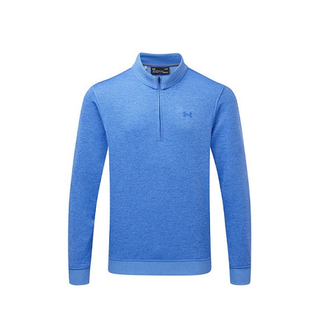 Under Armour Sweater Fleece Met Korte Rits Blauw