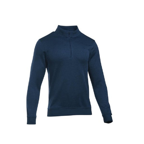 Under Armour Sweater Fleece Met Korte Rits Navy