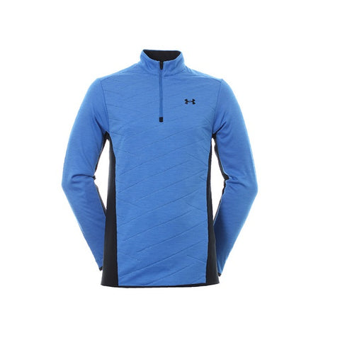Under Armour Herentrui Hybrid Halve Rits Blauw