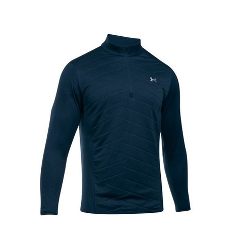 Under Armour Herentrui Hybrid Halve Rits Navy