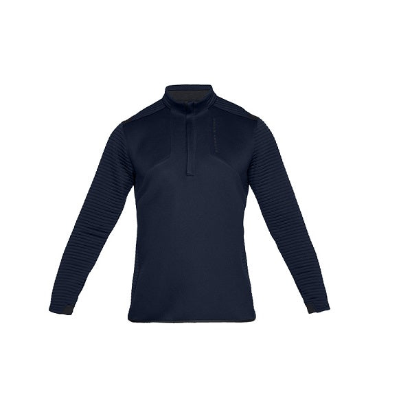 Under Armour Heren Shirt Daytona Korte Rits Navy