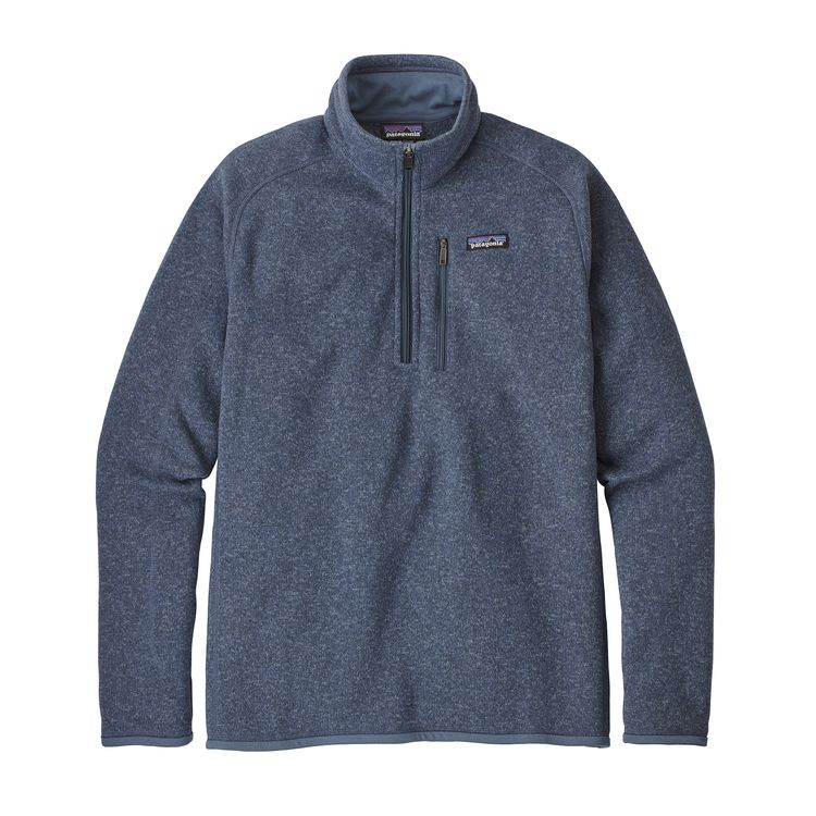 Patagonia Mens Better Sweater 14 Zip Fleece Body Boat Blade