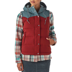 ae606592f38 Patagonia Women s Bivy Down Hooded Vest