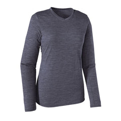 Patagonia Women's Merino Daily Long-Sleeved V-Neck T-Shirt