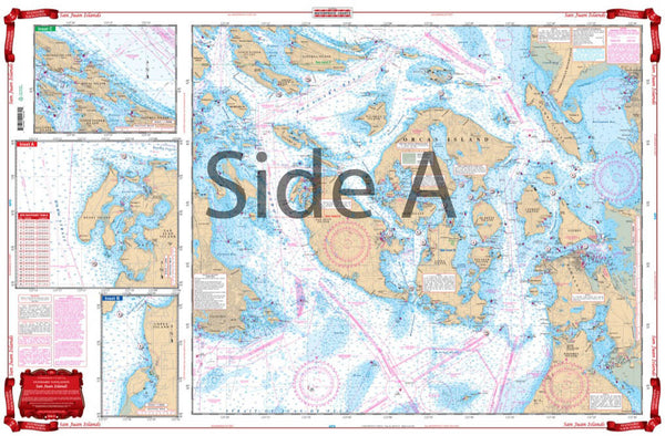 Waterproof Charts #43 -  San Juan Islands