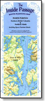 Inside Passage Map North - Laminated, 2nd Edition