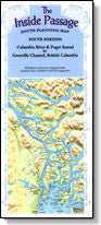 Inside Passage Map South - Laminated, 2nd Edition