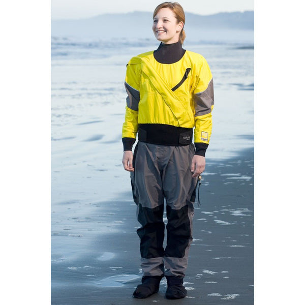 Kokatat Women's GORE-TEX® Meridian Dry Suit with Drop Seat and Socks
