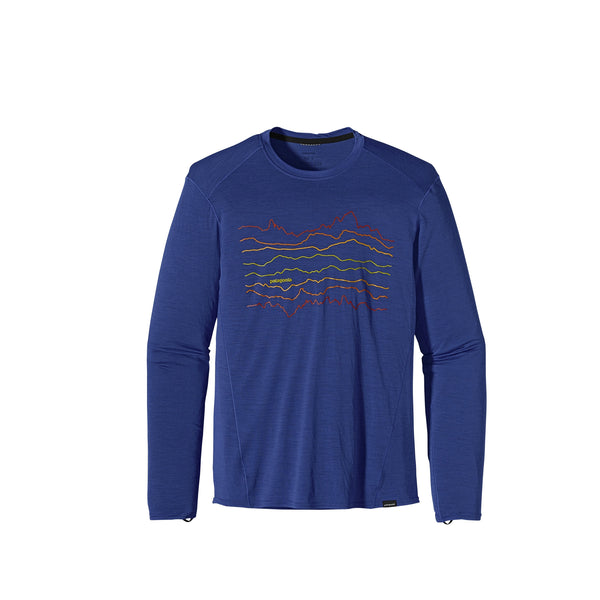 Patagonia Men's Merino 1 Silkweight Graphic Crew