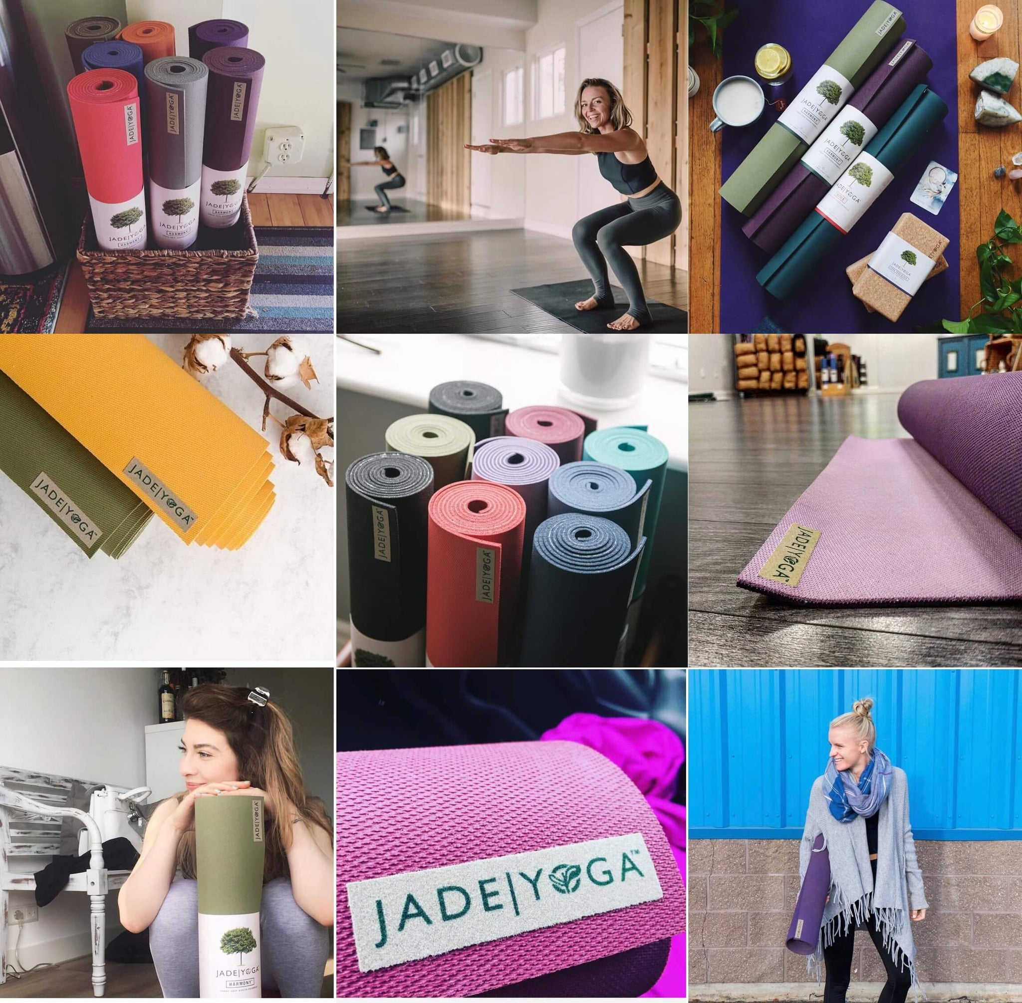 jade yoga mats collection
