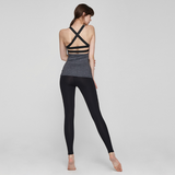 (TOP) MT1625 Black Melange - goYOGA Outlet