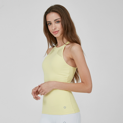 (TOP) MT1638 - Pastel Lemon - goYOGA Outlet