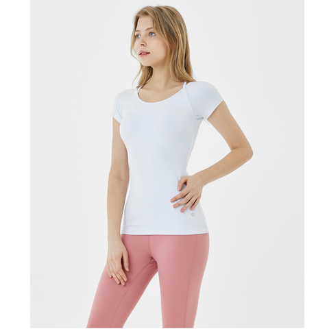 (TOP) MT0853 - White - goYOGA Outlet